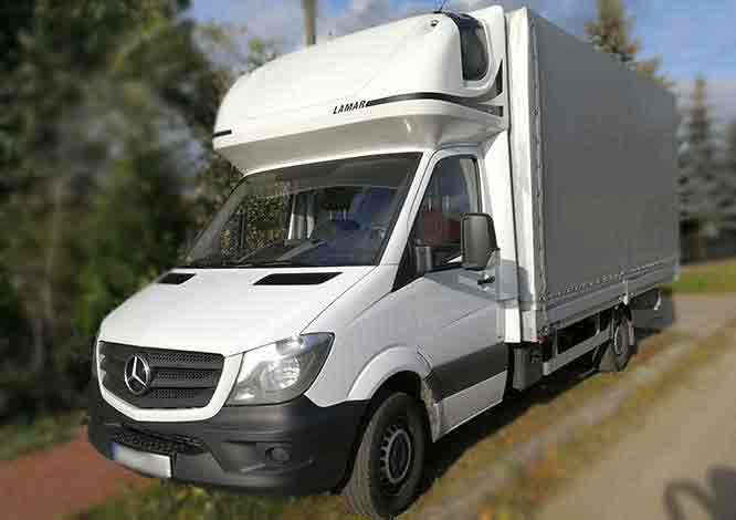 Mercedes-Benz Sprinter Plandeka