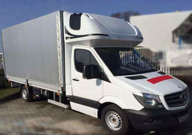 Mercedes-Benz Sprinter 10 europalet
